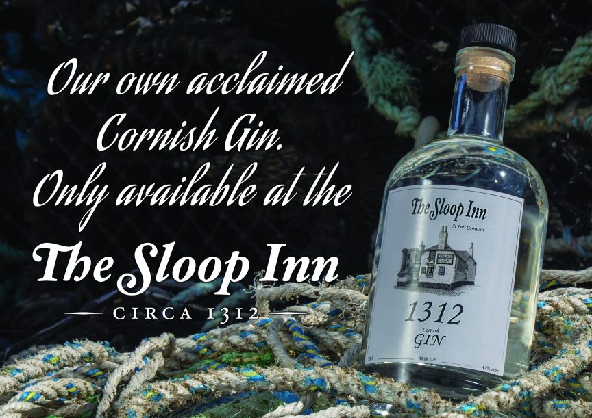 NOW AVAILABLE 1312 Sloop Inn Gin