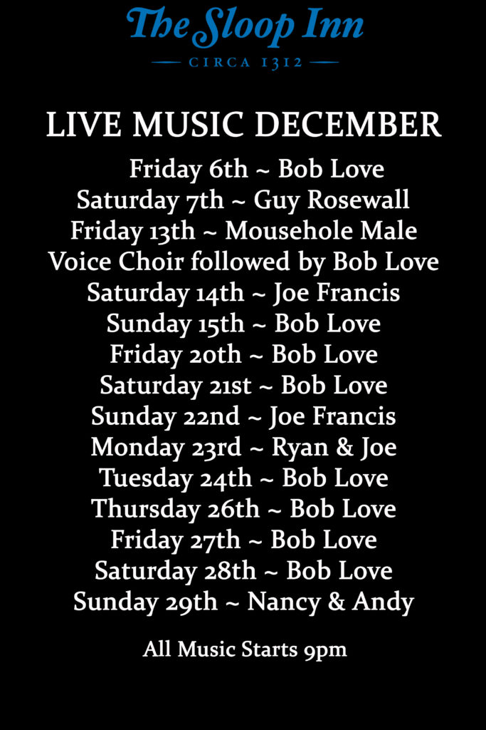 Live Music This December